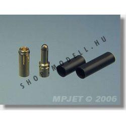 csatlakozó MP JET arany 2,5 mm