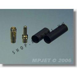 csatlakozó MP JET arany 3,5 mm
