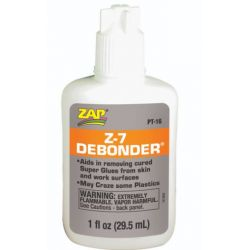 Oldószer (debonder) pillanatragasztóhoz, cianoakriláthoz