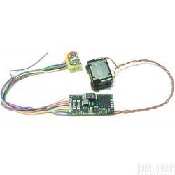DIGISOUND-M62-REMOT 4.1 Hangdekóder hangszóróval remotorizált M62 Szergej dízelmozdonyhoz
