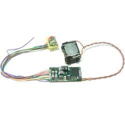 DIGISOUND 5.1-LUDMILLA Hangdekóder hangszóróval GySEV BR 232 BR 651 Ludmilla dízelmozdonyhoz
