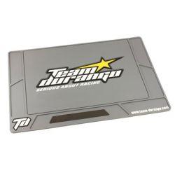 Durango TD390080 LARGE TEAM DURANGO RUBBER PIT MAT (TUNGSTEN)
