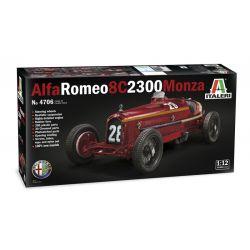 4706S ITALERI Alfa Romeo 8C 2300 Monza 1:12