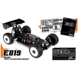 HB Racing E819 1/8 Competition Elektromos Buggy Kit modellautó