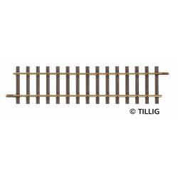 Tillig 85124 Egyenes sín G2 114 mm