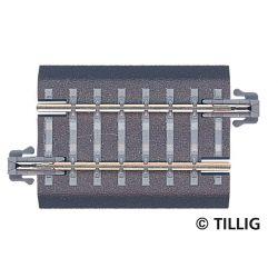 Tillig 83705 Ágyazatos egyenes sín G3 43 mm