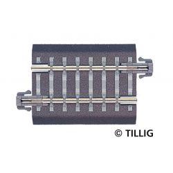 Tillig 83703 Ágyazatos egyenes sín G4 41,5 mm