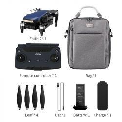 C-Fly Faith 2 PRO 4K GPS 3 tengelyes kamerás drón - kék