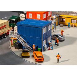 FALLER 130134 Építkezési irodakonténerek, 4 db