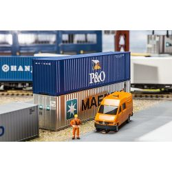 Faller 180843 40' Hi-Cube konténer P&O