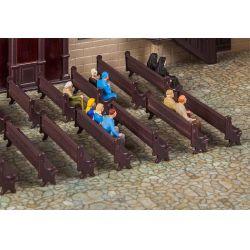 Faller 180989 7 Kirchenbänke