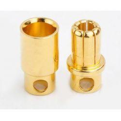 6.0mm-es bullet csatlakozó 1 pár