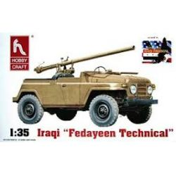 6006 HOBBY CRAFT  Iraki Jeep Fedayeen Technical 1/35