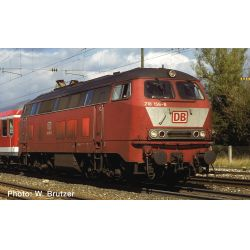 Fleischmann 724300 Dízelmozdony BR 218, DB AG V, hangdekóderrel