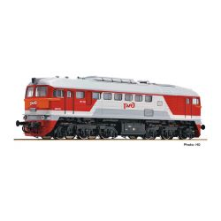 Fleischmann 725290 dízel mozdony M62, rt/gr, DCC-Sound