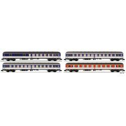 Fleischmann 881908 4-tlg. Set: UIC-Wagen