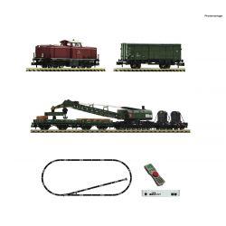 Fleischmann 931899 z21 Set dízel mozdony BR 212 + Bau