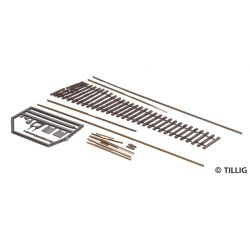 Tillig 85441 Flexibilis építhető váltó BW 11'