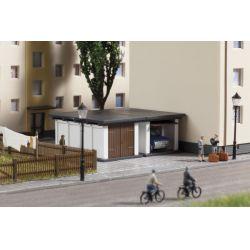 Auhagen 13331 Lakótelepi garázs, 2 db