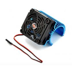 Hobbywing hűtőborda 5cm-es ventilátorral 36mm átmérőjű motorokhoz