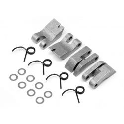 HPI 111350 ALUMINUM QUADRA CLUTCH SHOE/SPRING SET