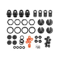 HPI 117047 SHOCK PARTS SET (4 SHOCKS)