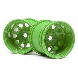 HPI 120039 CLASSIC KING WHEEL GREEN (2.2IN/2db)