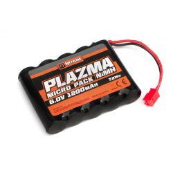 HPI 160155 Plazma akkumulátor 6.0V 1200mAh NiMH Micro RS4 Battery Pack