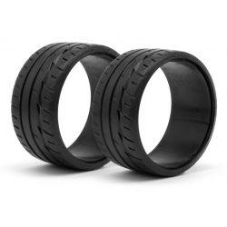 HPI 33469 Lp32 T-Drift Tire Bridgestone Potenza Re-11 (2db)