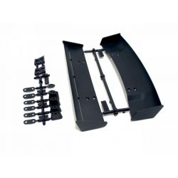 HPI 85197 MOLDED WING SET (2 TYPES/1/10 SCALE/fekete)