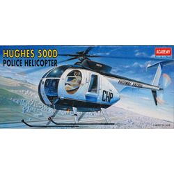 1/48 HUGHES 500D POLICE HELICOPTER