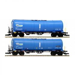 Igra 96210015 Tartálykocsi fékhíddal Zacns 81 készlet, RTI Wagon VI