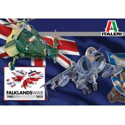 Italeri 1329 Wessex UH.5 + Sea Harrier FRS.1