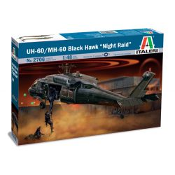 Italeri 2706 UH-60/MH-60 BLACK HAWK