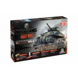 Italeri 36503 World of Tanks-M4 Sherman 1:35 harckocsi