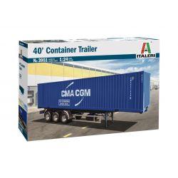 Italeri 3951S 40' Container Trailer
