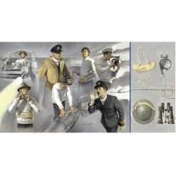 Italeri 5616 VOSPER CREW and ACCESSORIES