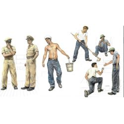 Italeri 5618 PT 109 CREW and ACCESSORIES