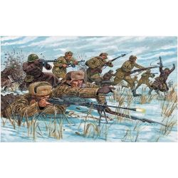 Italeri 6069 WWII-RUSSIAN INFANTRY (WINTER UNIF)