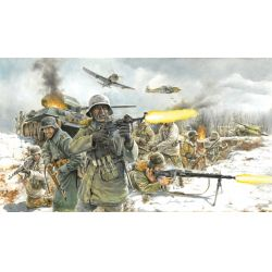 Italeri 6151 WWII- GERMAN INFANTRY (Winter Uniform)
