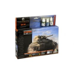 Italeri 74002 M4 Sherman World of Tanks