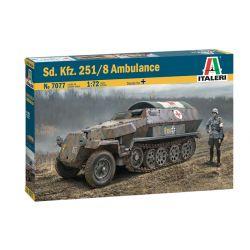 7077S ITALERI Sd. Kfz. 251/8 Ambulance 1:72