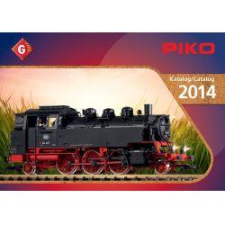 Piko 99704 Katalógus Piko G kerti vasút, 2014