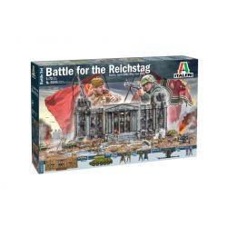 ITALERI 6195 Csata a Reichstag-ért dioráma szett 1:72