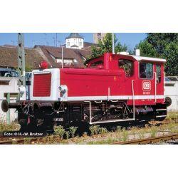 Liliput 162593 Dízel tolató mozdony, 332 021-5, DB, orientrot, Ep.V (old logo)