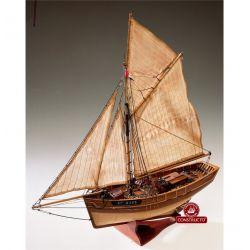 Constructo 80826 Le Camaret vitorlás, fa hajómakett