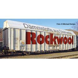 Liliput 235814 Nagy rakterű zárt teherkocsi Hbbks, 'Rockwool', DB V