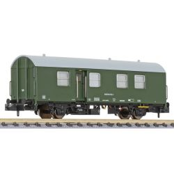 Liliput 265032 Umbau-Bahndienstwagen, Wohn-Schlafwagen 434, grün, DB AG, Ep.VI