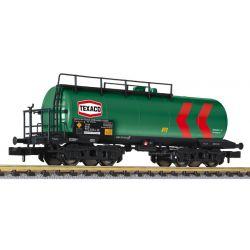 Liliput 265963 Tartálykocsi fékhíddal Texaco, DB IV
