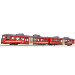 Liliput 340501 Kiegészítő készlet keskenynyomközű szerelvényhez, VS 7 vezérlőkocsi B4 34 betétkocsival, Zillertalbahn VI